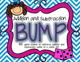 Addition and Subtraction BUMP