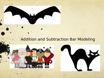 Addition and Subtraction Bar Modeling