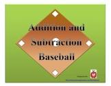 Addition and Subtraction Baseball