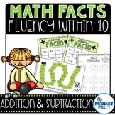 Math Fact Fluency: Addition and Subtraction 6-10