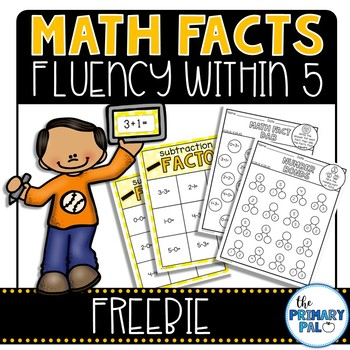 Addition and Subtraction Basic Facts Practice Freebie