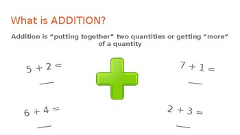 Addition and Subtraction Basic Operations Presentation