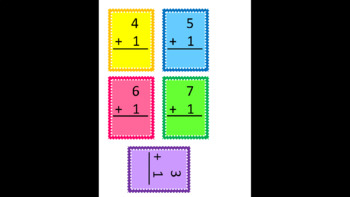 Addition and Subtraction Beginners Flash Cards