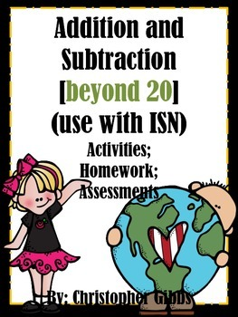 Addition and Subtraction Beyond 20 Activities or Assessments