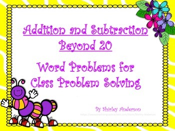 Addition and Subtraction Beyond 20- Class Presentation
