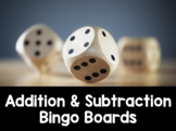 Dice Addition and Subtraction Bingo Cards {Math Made Fun Series}