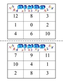 Addition and Subtraction Bingo Games for Numbers 1-13
