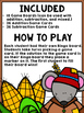 Fall/Autumn Bingo {Addition and Subtraction within 10}