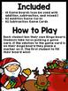 Addition and Subtraction Bingo {Within 20} (Christmas Theme)