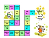 Addition and Subtraction Board Game