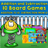 Addition Games and Subtraction Games (Addition Within 12, Subtraction Within 10)