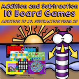Addition Games and Subtraction Games (Add and Subtract within 20)