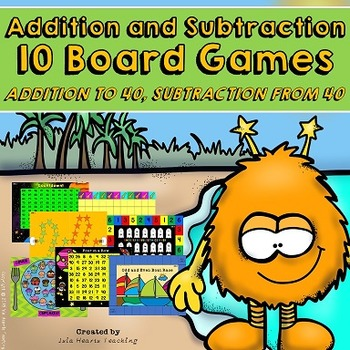 Addition Games and Subtraction Games (Add and Subtract within 40)
