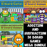 Addition Games and Subtraction Games - Kindergarten, First Grade, Second Grade