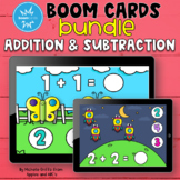 Addition and Subtraction Boom Cards Bundle for Kindergarten