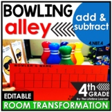 Addition and Subtraction Activities  - 4th Grade Classroom Transformation