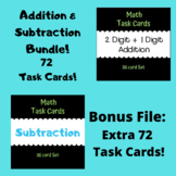 Addition and Subtraction Bundle (148 Task Cards)!