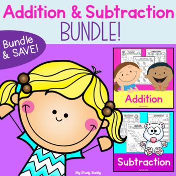 Addition and Subtraction Bundle (Kindergarten Math)