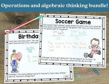 Addition and Subtraction Bundle for Kindergarten