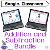 Google Classroom Digital Addition and Subtraction Distance