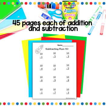 Addition and Subtraction Bundled Practice for the Common Core