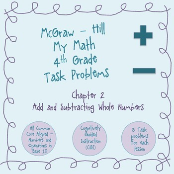 Addition and Subtraction CGI Task Problems