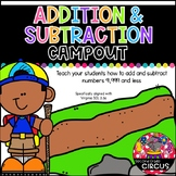 Addition and Subtraction Campout (Virginia SOL 3.3a)