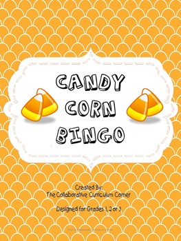 Bingo: Addition and Subtraction Candy Corn Theme