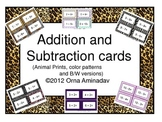 Addition and Subtraction Cards (0-10)