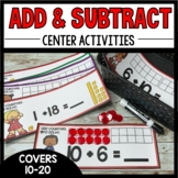 Addition and Subtraction Center (Numbers 10-20)