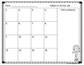 Addition and Subtraction: Task Cards