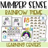 Number Sense to 20 Rainbow Theme