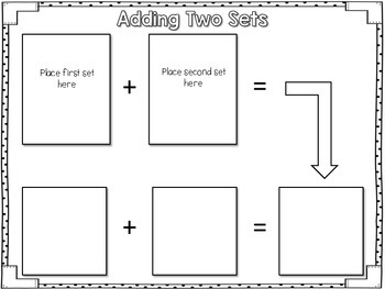 Addition and Subtraction Centers - No Worksheet Required!
