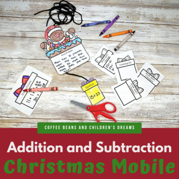 Addition and Subtraction Christmas Craft