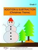 Addition and Subtraction (Christmas Theme)