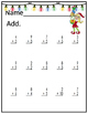 Addition and Subtraction Christmastime Fun Practice!