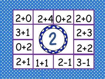 Addition and Subtraction Clip-It