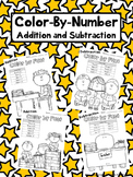 Addition and Subtraction Color-By-Fact