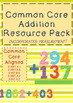 Addition and Subtraction Common Core Unit Pack