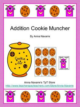 Addition and Subtraction Cookie Muncher Bundle