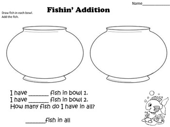 Addition and Subtraction Create & Draw