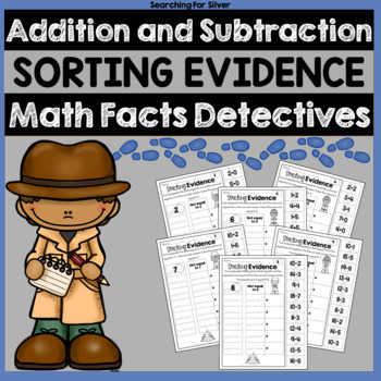 Addition and Subtraction Cut, Sort, and Paste No-Prep