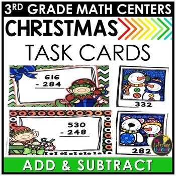Addition and Subtraction Christmas Game