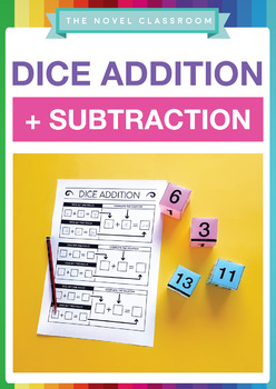 Addition and Subtraction Dice Activity