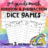 Addition and Subtraction Dice Games - 2nd Grade Ch. 3 Go M