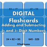 Addition and Subtraction Digi Flashcards