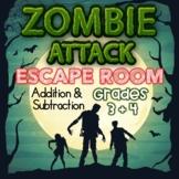 Addition and Subtraction Digital Escape Room Grades 3 + 4