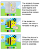 Addition and Subtraction Digital Mystery Pictures - Spring Theme