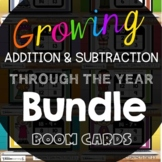 Addition and Subtraction Digital Task Cards {Boom Cards} T