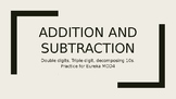 Addition and Subtraction Double Digits Eureka Module 4